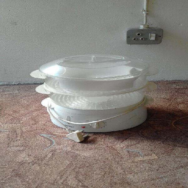 Braai pan, steamer, and hot plate