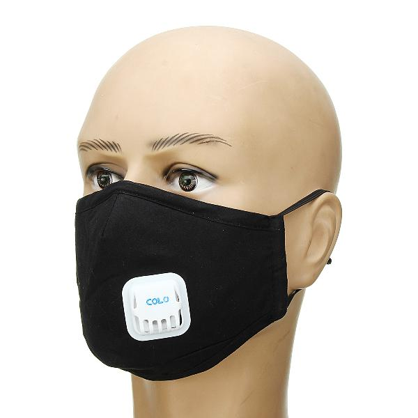 Cotton anti haze dust pm2.5 face mask washable breathable 8