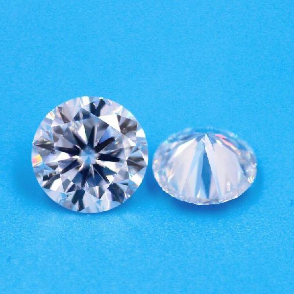 Forever one moissanite 1 ct 6,5mm colour d, vvs1, excellent