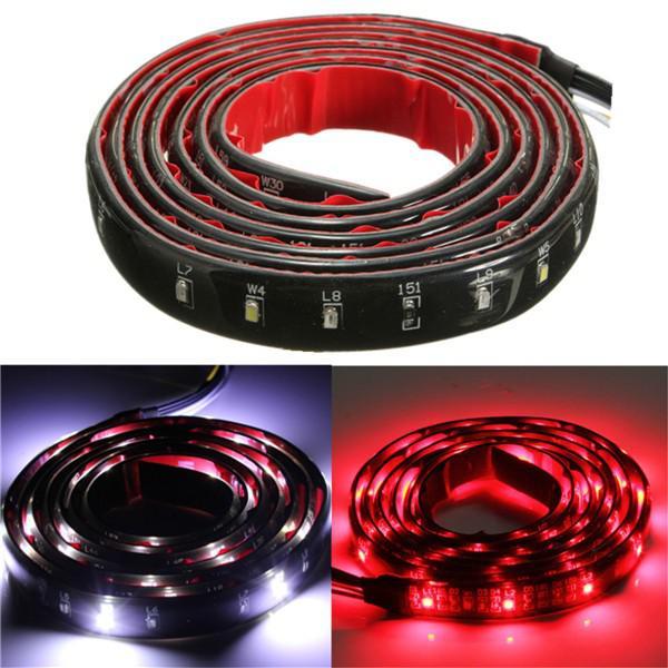 Led strip taillight 150cm flexible multi-function light