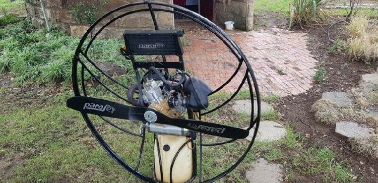 Powered paraglider polini thor 250 paramotor