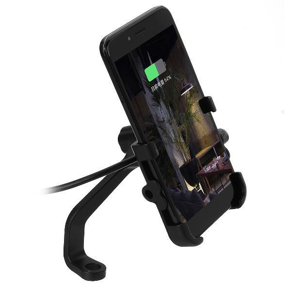 Universal motorcycle atv mobile phone gps handlebar mount