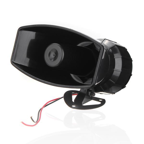 100w 12v boat warning alarm 7 sound loud car wireless fire