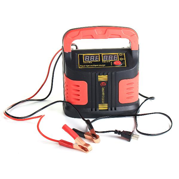 12v 24v car battery charger pulse repair motorcycle full