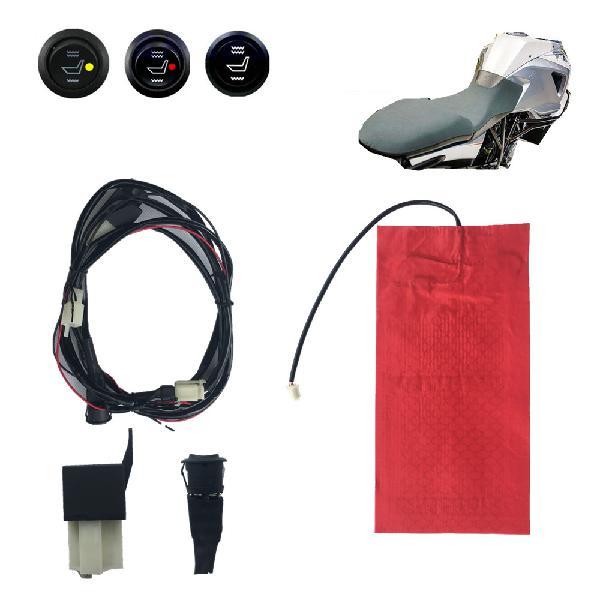 12v universal waterproof carbon fiber seat heater heating