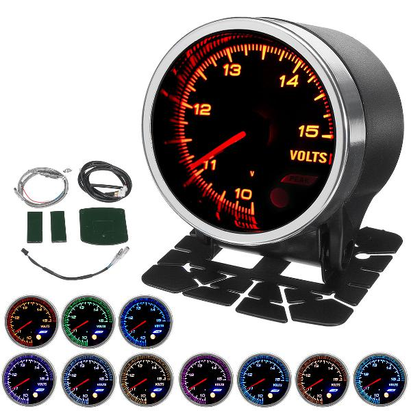 2inch 52mm 10 color backlights indicator tacho tachometer