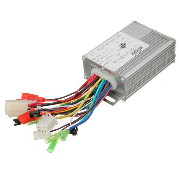 36v/48v 350w electrocar brushless motor controller for