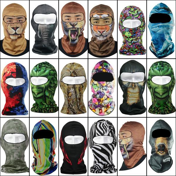 3d motorcycle balaclava neck ski full face mask cover hat