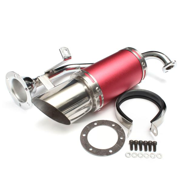 50mm/2in performance exhaust system stainless steel short