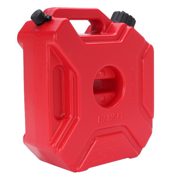 5l portable fuel tank plastic jerry can diesel motorcycle