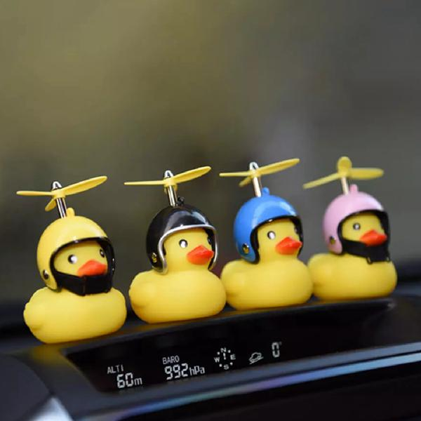 Broken wind yellow duck horn bell from xiaomi youpin