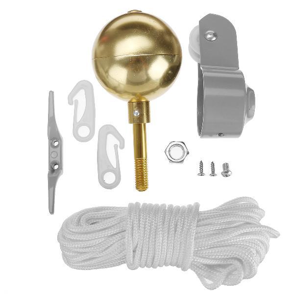 Flag pole parts repair tool kits 2inch diameter truck pulley