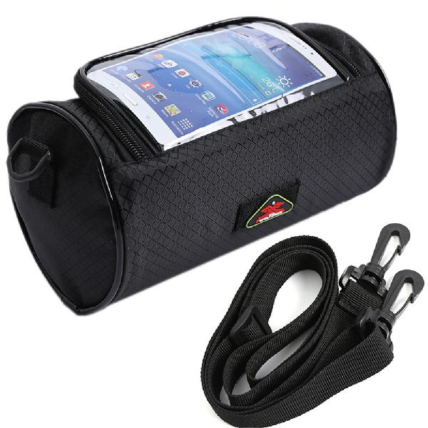 Motorcycle bicycle waterproof touchscreen front phone bag
