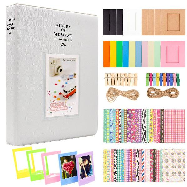 Ablus 2x3 Inch Photo Paper Film Album Set for Fujifilm