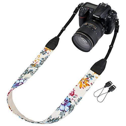 Dslr/slr camera neck shoulder belt strap, yoption vintage