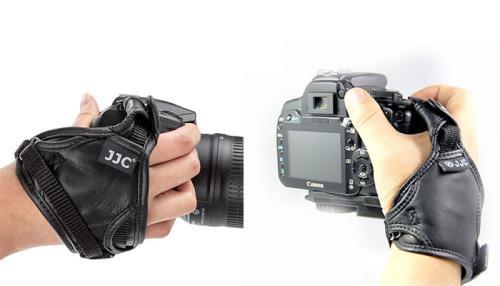 Jjc camera hand strap - hs-n (leather)
