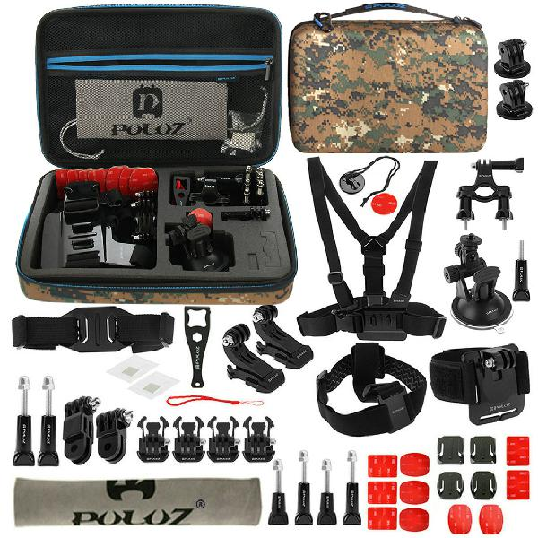 Puluz pkt29 45 in 1 accessories combo kit mount screw with