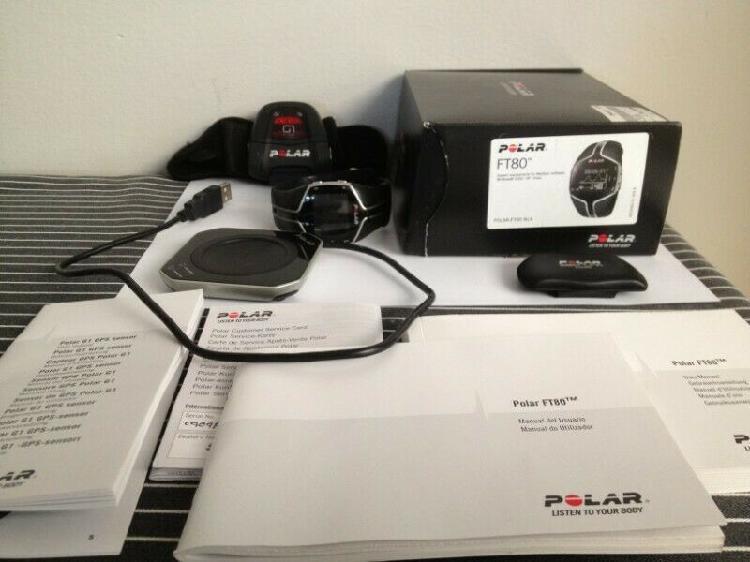 Polar ft80 heart rate set