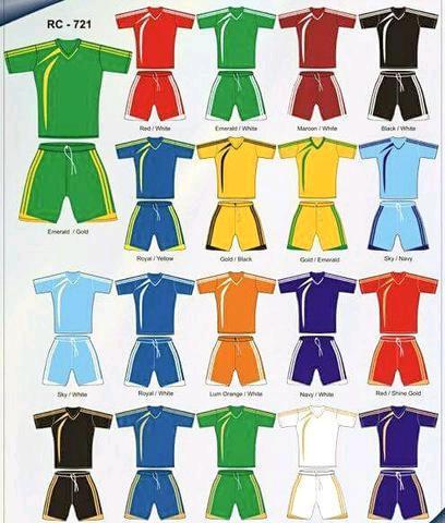 Soccer kits & equipment
