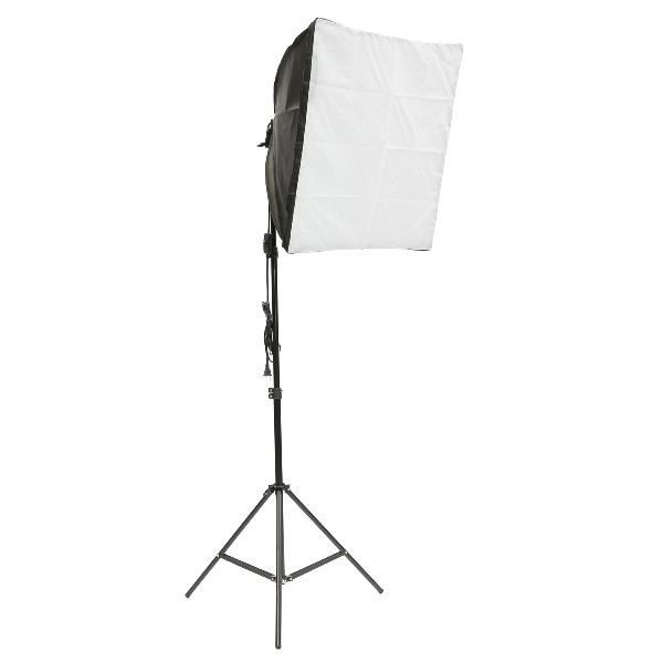 Softbox light kit photo studio video stand photography