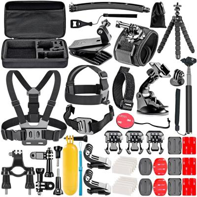 Accessories kit for gopro 6 hero 5 session 4 silver 3 black