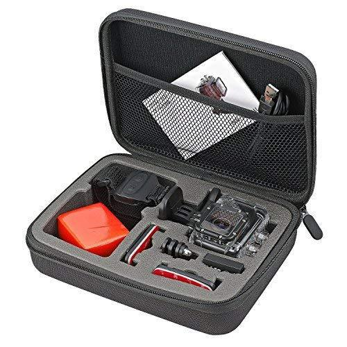 Foray c-h9 eva 9-inch carrying and travel case with foam for
