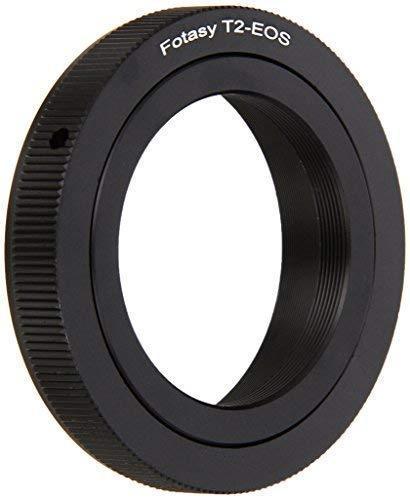Fotasy t/ t2 mount telephoto lens to canon eos ef mount