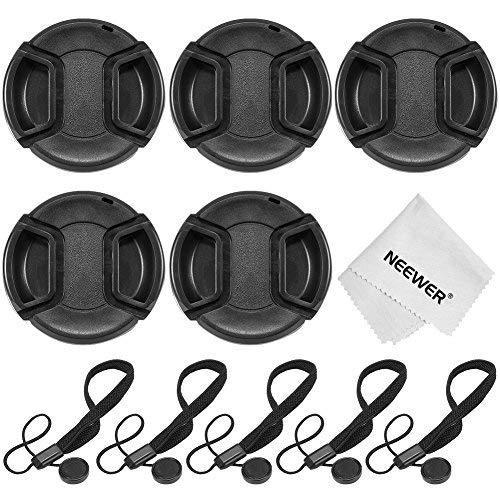 Neewer 67mm camera lens cap kit for the canon rebel (t5i,