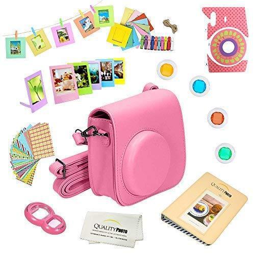 Quality photo instant camera 12-piece accessories bundle