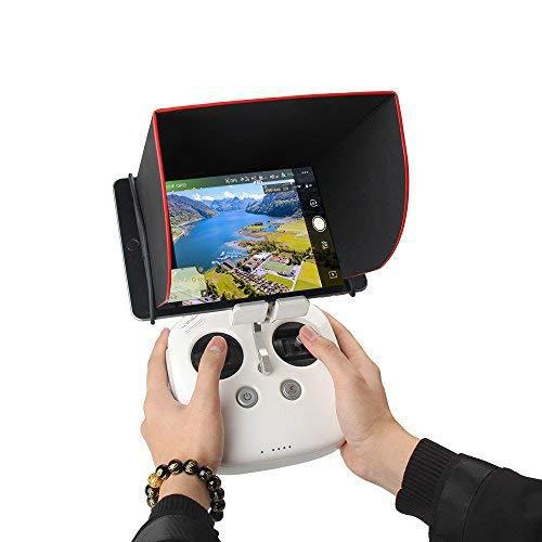 Rcgeek dji mavic pro tablet ipad sun hood sun shade monitor
