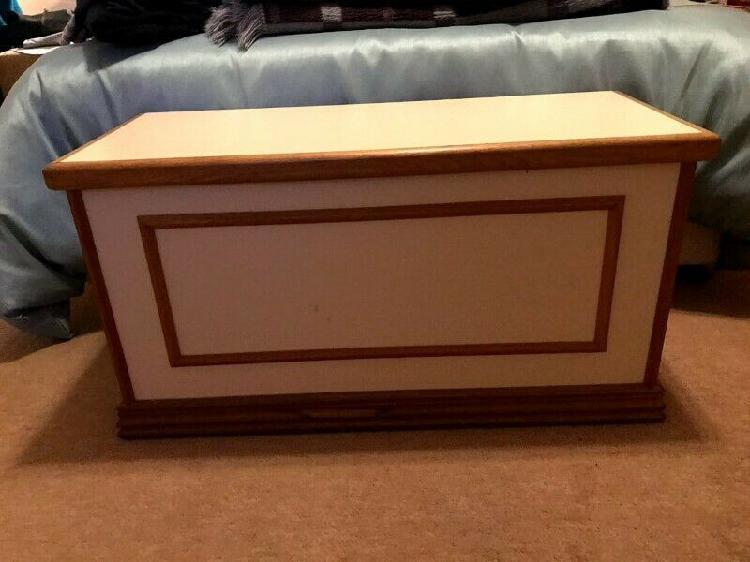Storage chest and desk