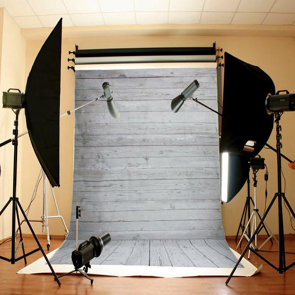 Wall floor wooden photography background backdrop cloth for