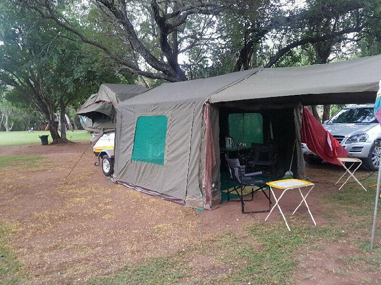 Zippa slipstream camping trailer