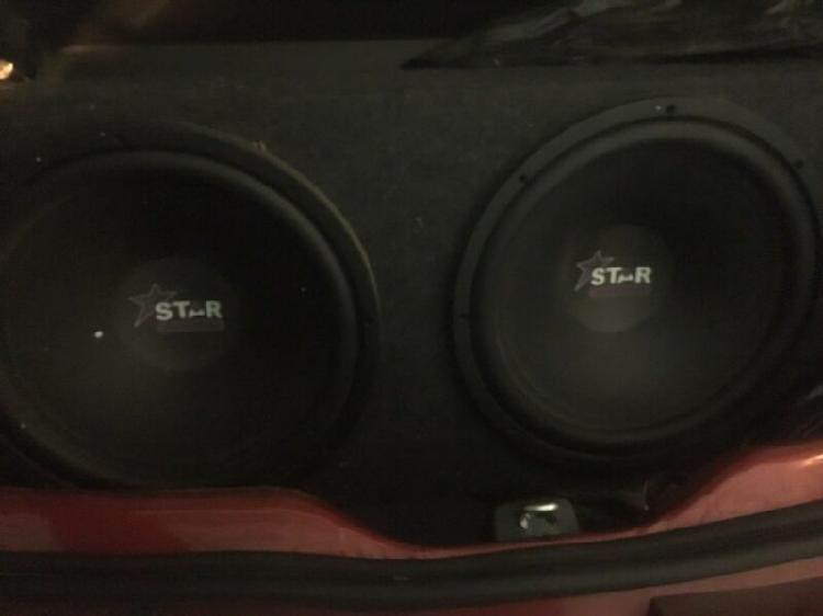 15 inch star sound subs