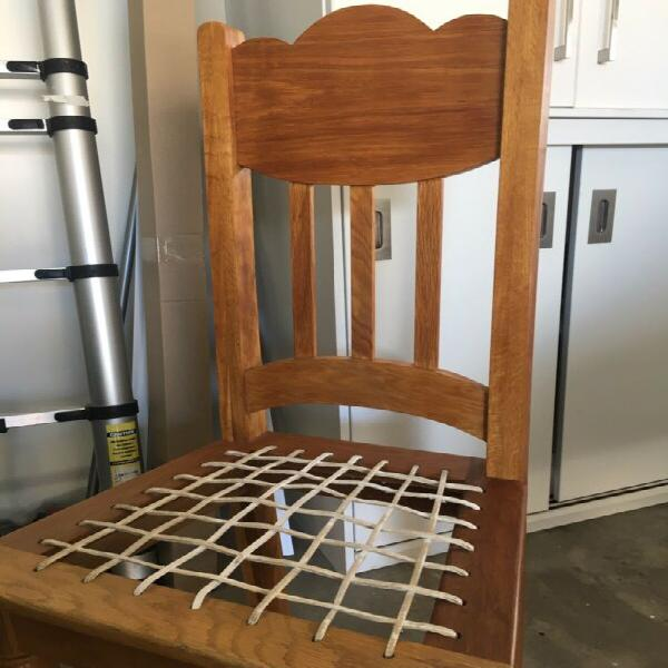 Chairs solid oak 6