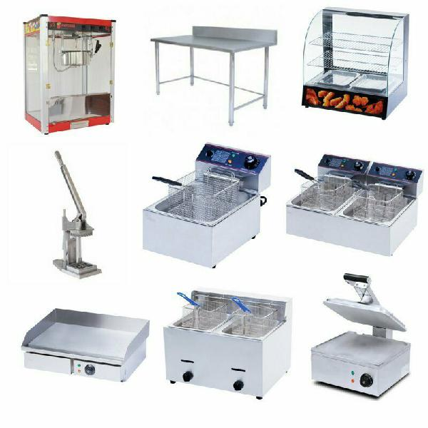 Commercial catering equipment - fryers, grillers, warmers,