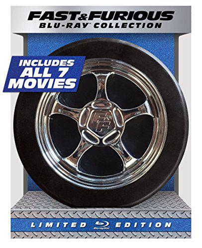 Fast & furious 1-7 collection limited edition (blu-ray +