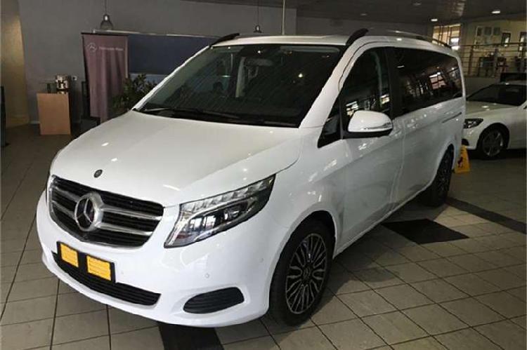 Mercedes benz v class v250 bluetec 2018