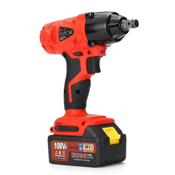 108vf 12800ma cordless impact drill kit powerful kits
