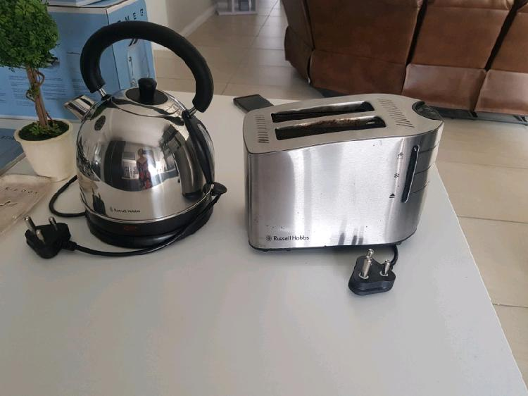 2nd hand russell hobbs toaster and kettle for sale by owner.