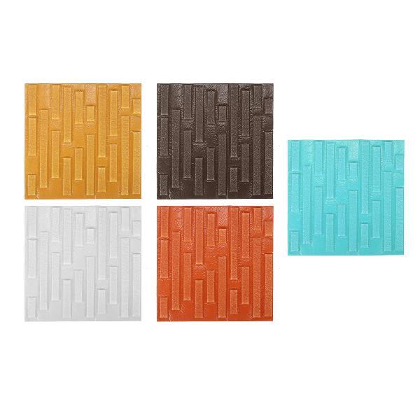 3d self-adhesive wall sticker foam brick pattern