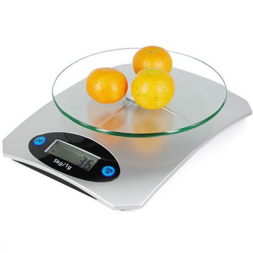 5kg digital lcd electronic glass kitchen postal scales