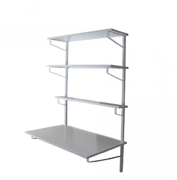 Fine living - franklin desk shelf wall unit - fine living
