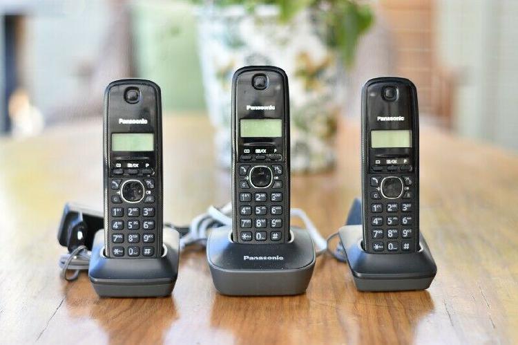 Panasonic trio cordless phones & mweb router