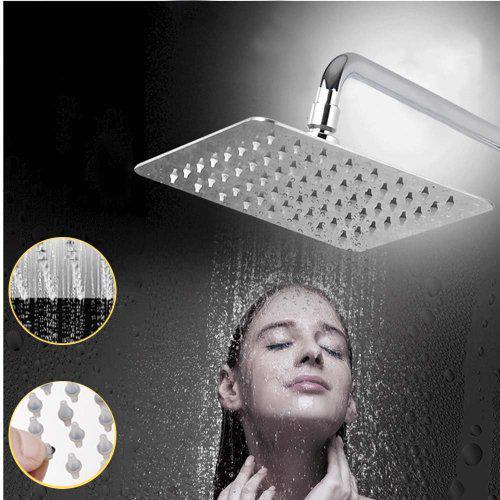 Ultra modern rainfall shower head 200mm x 200mm