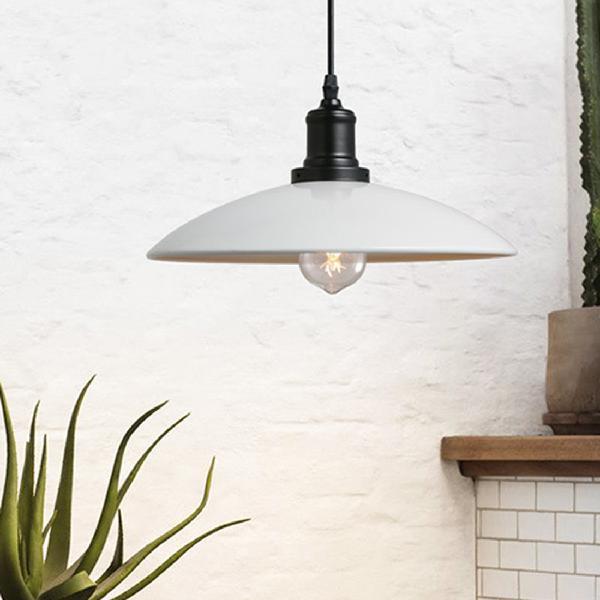 Ywxlight led retro industrial hanging lamp creative pot lid