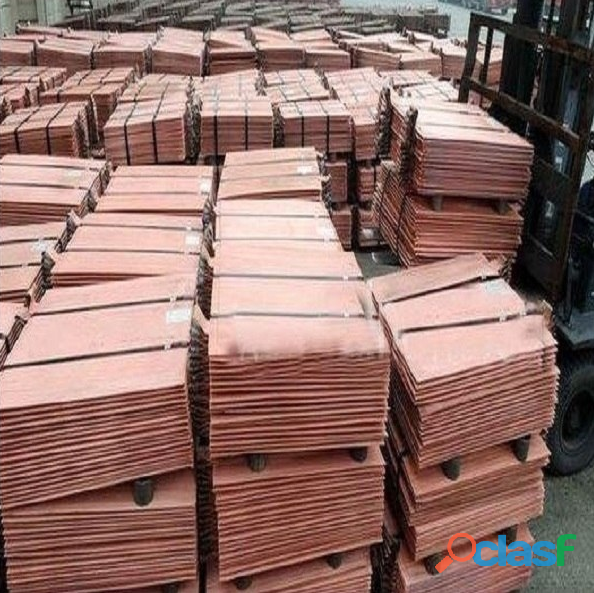South african 99.99% electrolytic copper cathode suppliers