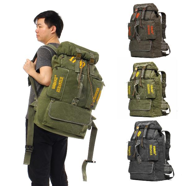 100l women men waterproof travel backpack outdoor camping