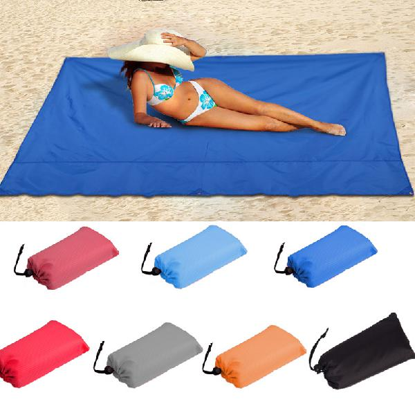 145 x 150cm waterproof beach mat portable camping picnic mat