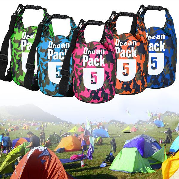 5l waterproof bag camping rafting storage dry bag swimming